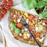 LowCarb-Zucchini-Pizza aus dem Thermomix // meine Alternative für den Familien-Pizzafreitag